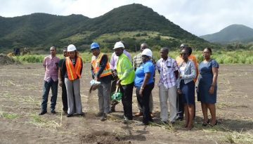 The National Housing Corporation (NHC) Breaks Ground in Cayon