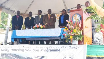 Launch of the Unity Housing Solution Program