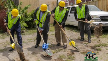 Sod Turned for Construction of Condominiums