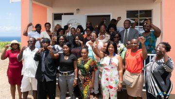 NHC, in collaboration with the Team Unity Government, Delivers More Houses to the People of St. Kitts